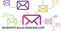 Sign in for our mailing list